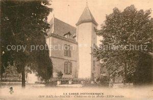 AK / Ansichtskarte Sail les Bains Chateau de la Motte Kat. Sail les Bains