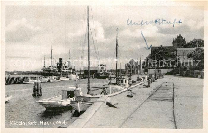 AK / Ansichtskarte Middelfart Havneparti Kat. Daenemark