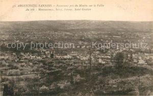AK / Ansichtskarte Argenteuil Val d Oise Sannois Fliegeraufnahme Kat. Argenteuil