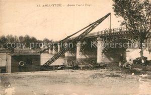 AK / Ansichtskarte Argenteuil Val d Oise Pont a Peage Kat. Argenteuil