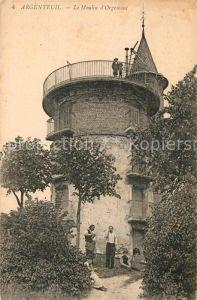AK / Ansichtskarte Argenteuil Val d Oise Le Moulin d`Orgemont Kat. Argenteuil