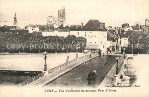AK / Ansichtskarte Sens Yonne Pont d`Yonne