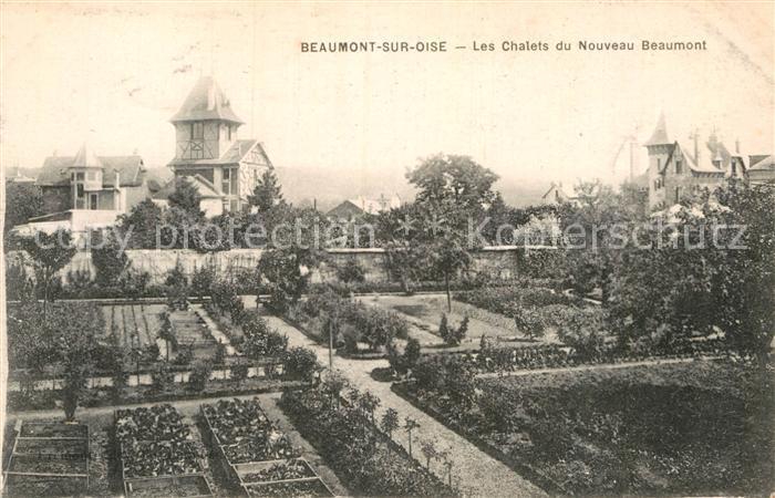 AK / Ansichtskarte Beaumont sur Oise Les Chalets du Nouveau Beaumont Kat. Beaumont sur Oise