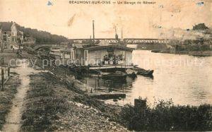 AK / Ansichtskarte Beaumont sur Oise Un Garage de Bateaux Kat. Beaumont sur Oise