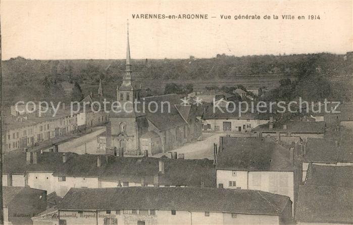 AK / Ansichtskarte Varennes en Argonne  Kat. Varennes en Argonne