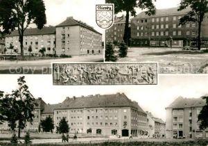 AK / Ansichtskarte Niesky Zinzendofplatz Kat. Niesky