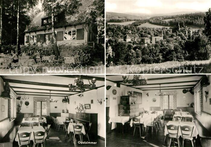 AK / Ansichtskarte Bad Elster Waldcafee Baerenloh  Kat. Bad Elster