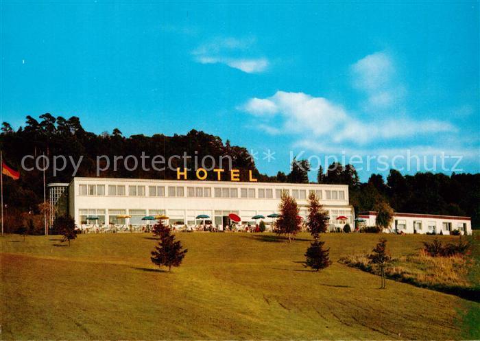 AK / Ansichtskarte Montabaur Westerwald Hotel Montabaur BAB  Kat. Montabaur