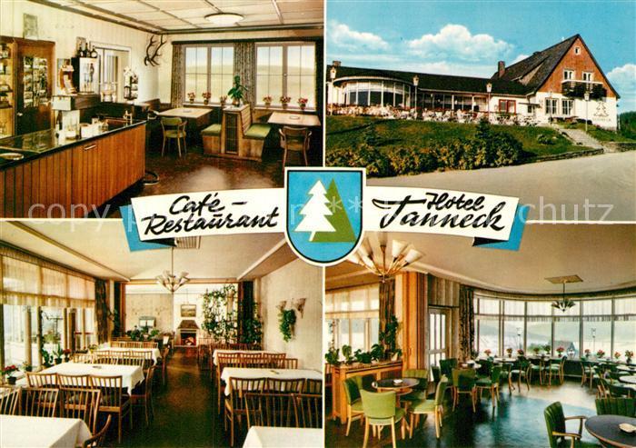 AK / Ansichtskarte Neu Schulenberg Cafe Restaurant Hotel Tanneck Kat. Schulenberg Oberharz