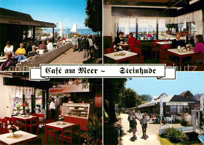AK / Ansichtskarte Steinhude Meer Cafe am Meer