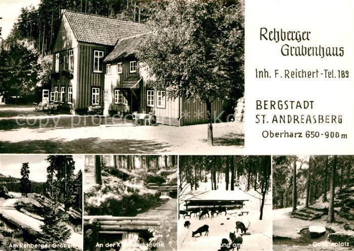 AK / Ansichtskarte Andreasberg Harz St Rehberger Grabenhaus Kronrauchshuette Kat. Sankt Andreasberg