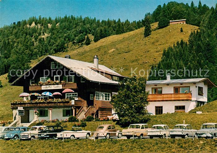 AK / Ansichtskarte Balderschwang Berggasthof Hubertus Kat. Balderschwang
