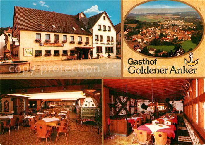 AK / Ansichtskarte Kasendorf Oberfranken Gasthof Goldener Anker Kat. Kasendorf