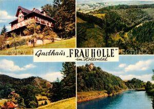 AK / Ansichtskarte Hoellental Hessen Gasthaus Frau Holle Kat. Berkatal