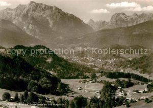 AK / Ansichtskarte Oberau Berchtesgaden Panorama  Kat. Berchtesgaden