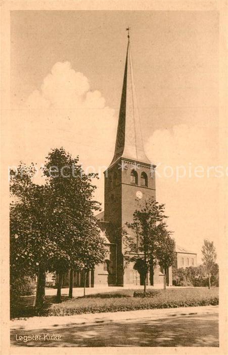 AK / Ansichtskarte Logstor Kirke Kat.