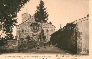 AK / Ansichtskarte Mont Saint Martin Briey Eglise Kat. Mont Saint Martin