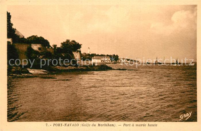 AK / Ansichtskarte Port Navalo Port a maree haute Kat. Arzon