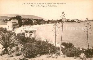 AK / Ansichtskarte La Seyne sur Mer Plage des Sablettes Kat. La Seyne sur Mer