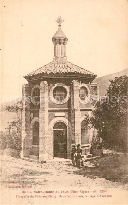 AK / Ansichtskarte Notre Dame du Laus Chapelle du Precieux Sang Kat. Saint Etienne le Laus