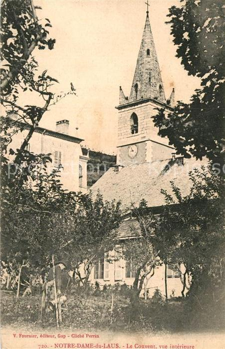 AK / Ansichtskarte Notre Dame du Laus Le Couvent vue interieure Clocher Kat. Saint Etienne le Laus