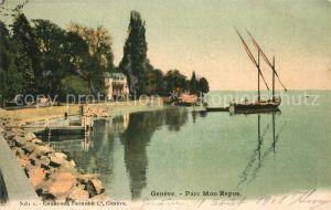 AK / Ansichtskarte Geneve GE Parc Mon Repos Kat. Geneve