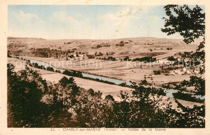 AK / Ansichtskarte Charly sur Marne Panorama Vallee de la Marne Kat. Charly sur Marne