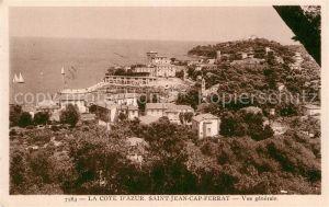 AK / Ansichtskarte Saint Jean Cap Ferrat Vue generale Cote d Azur Kat. Saint Jean Cap Ferrat