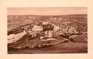 AK / Ansichtskarte Le Petit Andely Les Ruines du Chateau Gaillard Kat. Les Andelys