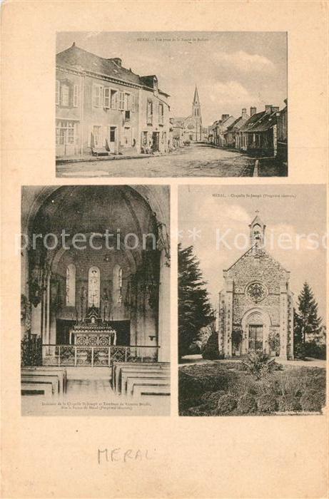 AK / Ansichtskarte Meral Route de Ballots Chapelle St Joseph et Tombeau de Victoire Brielle Kat. Meral
