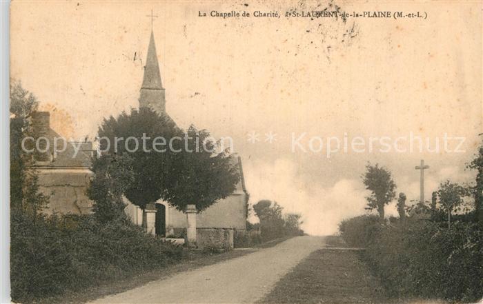 AK / Ansichtskarte Saint Laurent de la Plaine Kapelle Kat. Saint Laurent de la Plaine