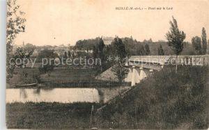 AK / Ansichtskarte Huille Pont sur le Loir Kat. Huille