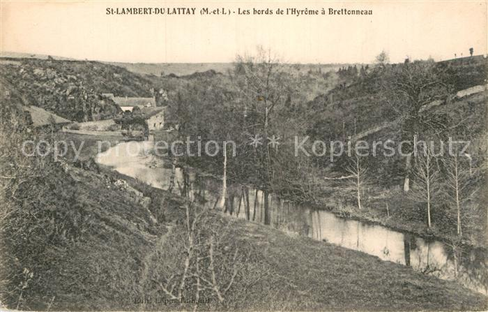 AK / Ansichtskarte Saint Lambert du Lattay Les bords Hyrome Brettonneau Kat. Saint Lambert du Lattay