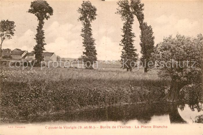 AK / Ansichtskarte Ozouer le Voulgis Bords de Yerres Pierre Blanche Kat. Ozouer le Voulgis
