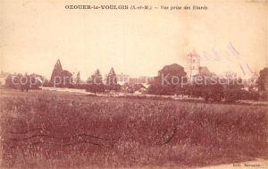 AK / Ansichtskarte Ozouer le Voulgis Panorama Etard Kat. Ozouer le Voulgis