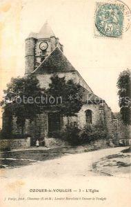 AK / Ansichtskarte Ozouer le Voulgis Kirche Kat. Ozouer le Voulgis