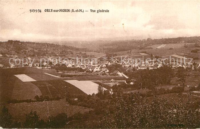 AK / Ansichtskarte Orly sur Morin Panorama Kat. Orly sur Morin