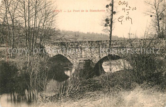 AK / Ansichtskarte Orly Pont de la Blanchette Kat. Orly