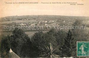 AK / Ansichtskarte La Ferte sous Jouarre Panorama Saint Martin Petit Venteuil Kat. La Ferte sous Jouarre
