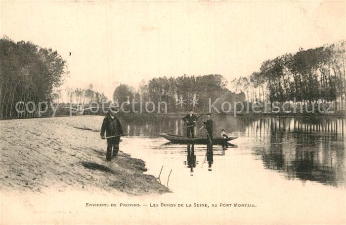 AK / Ansichtskarte Noyen sur Seine Port Montain Seine Kat. Noyen sur Seine