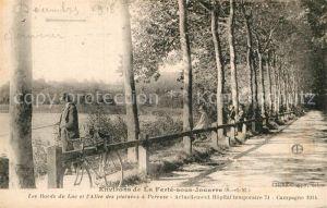 AK / Ansichtskarte Ferte sous Jouarre La See Platanenallee Kat. La Ferte sous Jouarre