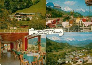 AK / Ansichtskarte Oberau Berchtesgaden Hotel Restaurant Marienhaeusl Kat. Berchtesgaden