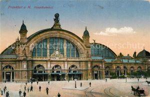 AK / Ansichtskarte Frankfurt Main Hauptbahnhof Kat. Frankfurt am Main