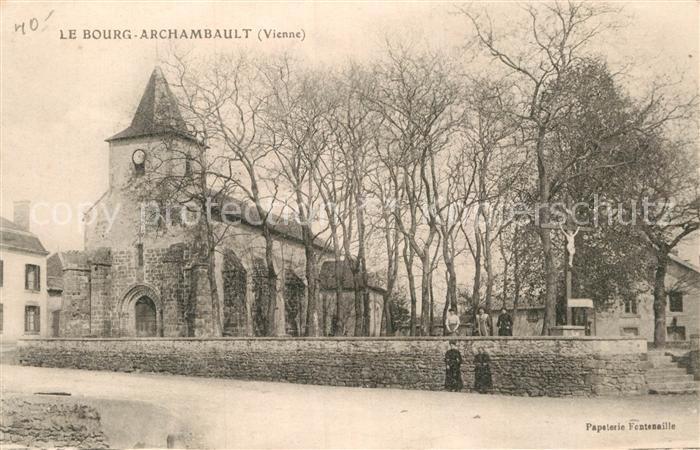 AK / Ansichtskarte Bourg Archambault Eglise Kat. Bourg Archambault