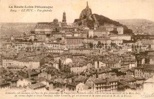 AK / Ansichtskarte Le Puy en Velay Haute Loire Altstadt Panorama Kat. Le Puy en Velay