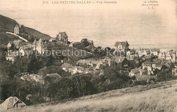 AK / Ansichtskarte Les Petites Dalles Panorama Kat. Cote d Albatre