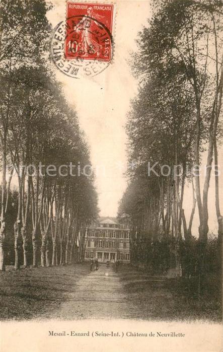 AK / Ansichtskarte Mesnil Esnard Le Chateau Neuvillette Kat. Le Mesnil Esnard