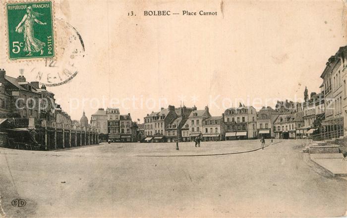 AK / Ansichtskarte Bolbec Place Carnot Kat. Bolbec
