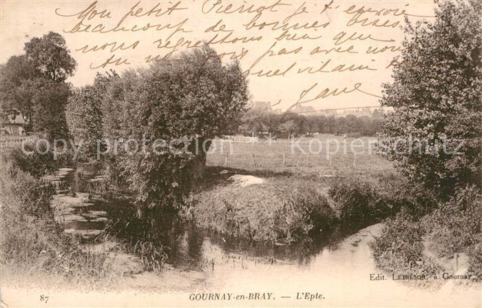 AK / Ansichtskarte Gournay en Bray Panorama Kat. Gournay en Bray