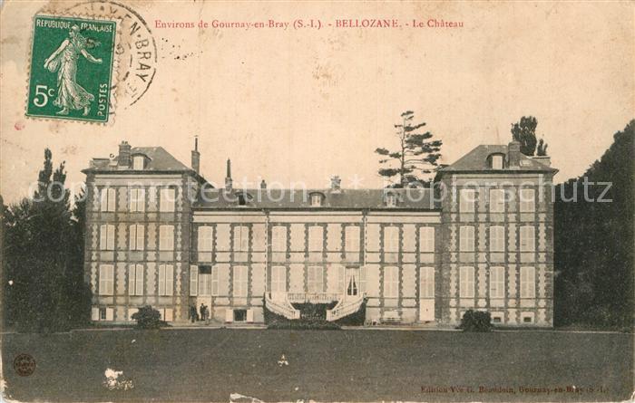AK / Ansichtskarte Gournay en Bray Bellozane Chateau Kat. Gournay en Bray